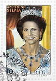 Queen Silvia of Sweden — Stock Photo