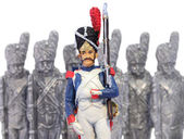 Toy Soldiers — Stock Photo