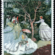 Постер, плакат: Claude Monet Stamp