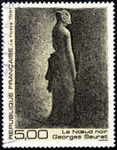 Georges Seurat Stamp — Stock Photo