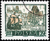 Gdansk Stamp — Stock Photo