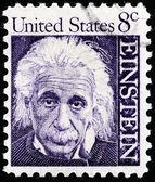 Albert Einstein Stamp — Stock Photo
