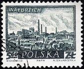 Walbrzych Stamp — Stock Photo