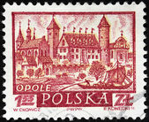 Opole Stamp — Stock Photo