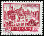 Wroclaw Stamp — Stock Photo