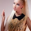 Постер, плакат: Girl looking like Barbie doll