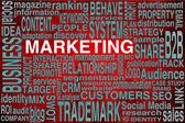 Marketing terms — Stock Photo
