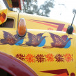 Fender of Indian truck — Stock Photo