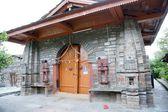 印度教寺庙在喜马拉雅山 — 图库照片