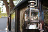 Vintage car lamp — Stock Photo