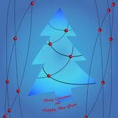 Neşeli christmas4 — Stok Vektör