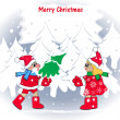 Merry Christmas7 — Stock Vector #15426619
