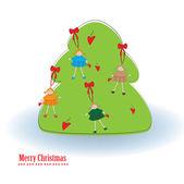 Merry Christmas25 — Stock Vector