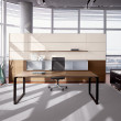 Workstation Center — Stockfoto
