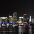 Miami Night — Stock Photo