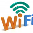 Wi-Fi — Stock Photo