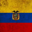 Ecuador Flag — Stock Photo
