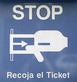 Señal de stop — Foto de Stock