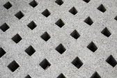 Concrete decorated — Stock Photo