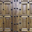 Old wooden door — Stock Photo