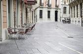 Town Square of Leon — Stock Photo