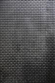Black metal background — Stock Photo
