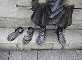 Pilgrim feet — Stock Photo