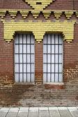 Historic windows — Stock Photo