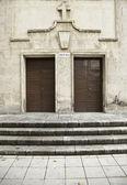 Church Doors — Stockfoto