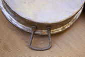Old metal pan — Stock Photo