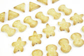 Savory snack, crackers — Stock Photo