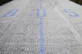 Señal de aparcamiento en la calle — Foto de Stock