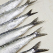 Royalty-Free Stock Photo: Tails of Sardines