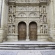 Facade of old medieval church — Stock Photo #23389450
