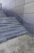 Escalier dans le bâtiment moderniste, architecture moderne de — Photo