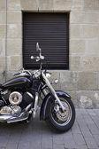 Modern and classic Moto — Stock Photo