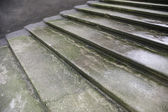 Ancient medieval stairs — Stock Photo