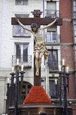 Christ on the cross — Stock Photo