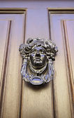 Victoriaanse oude deur — Stockfoto