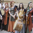Medieval musicians Group — Stock Photo #27912573