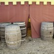 Stock Photo: Beer barrels
