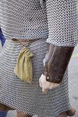 Warrior Chainmail — Stock Photo