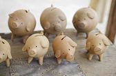 Piggies moneybox — Stock Photo