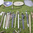 Stock Photo: Medieval shields and swords