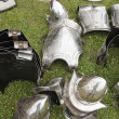Stock Photo: Ancient Medieval Armour