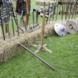 Stock Photo: Medieval military weapons