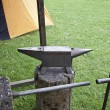 Medieval anvil — Stock Photo