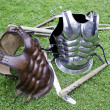 Medieval warrior armor — Stock Photo #27927923