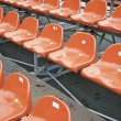 Stock Photo: Bleachers for spectators
