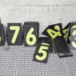 Numbers in race truck — Stock Photo #27928651